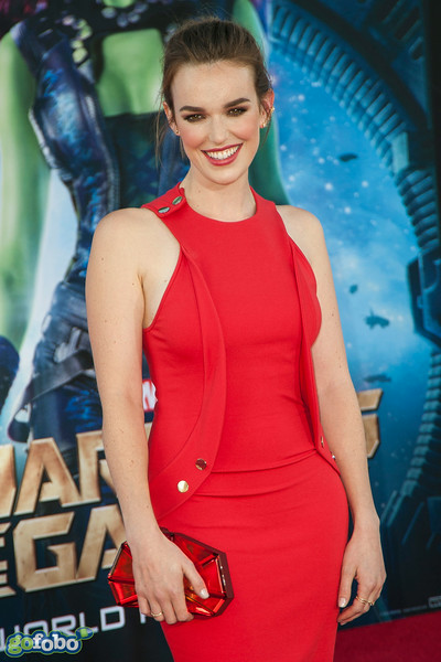 HOLLYWOOD, CA - JULY 21: Actress Elizabeth Henstridge attends Marvel's 'Guardians Of The Galaxy' Los Angeles Premiere at the Dolby Theatre on Monday July 21, 2014 in Hollywood, California. (Photo by Tom Sorensen/Moovieboy Pictures)