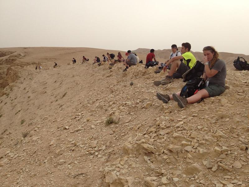 Qumran: the Joshua monument.