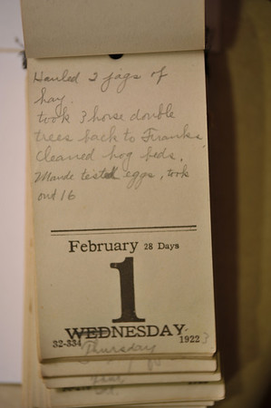 Day Book 1923 - February