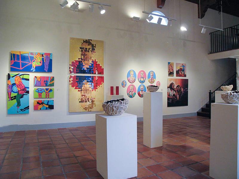 BFA & BA Senior Portfolio Exhibition Fall 2012, installation view
