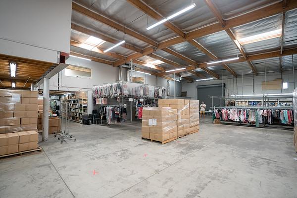 Bright Colored Warehouse