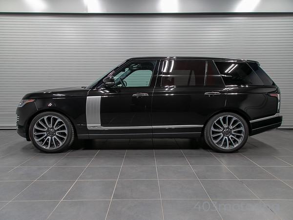 '18 Range Rover Autobiography L - Black