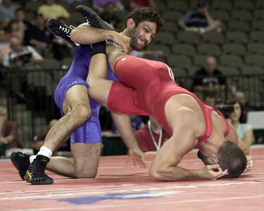 60 kg/132 lbs. Mike Zadick, Solon, Iowa (Hawkeye TC) def. Michael Lightner, Norman, Okla. (Sunkist Kids)