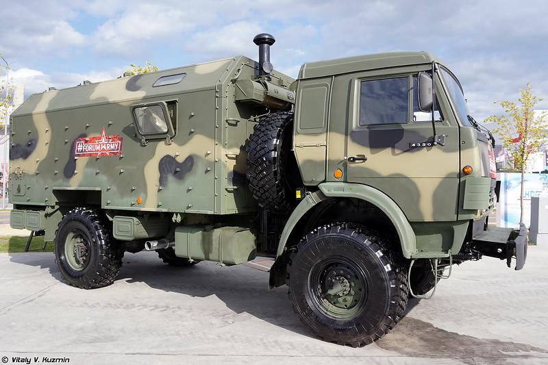 Станция управления комплекса БПЛА Наводчик-2 (Command vehicle of UAV system Navodchik-2)