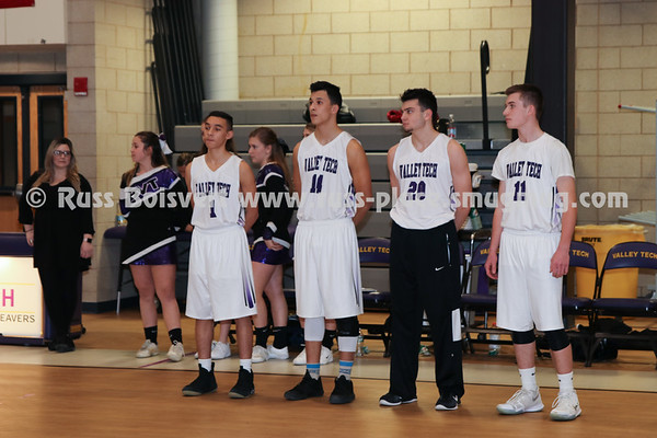 BVT Boys Varsity Senior Game vs Nashoba Tech