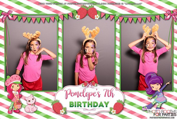 Penelope's 7th Birthday