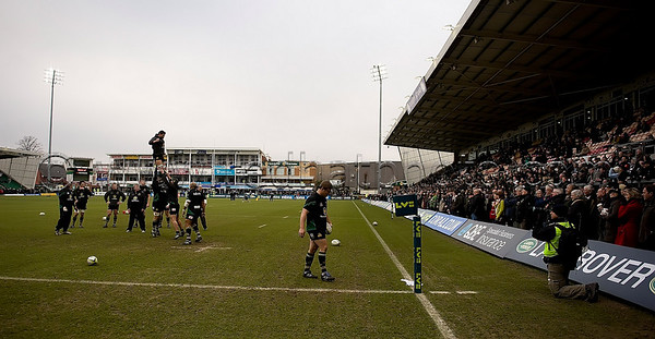 Northampton Saints vs Leicester Tigers, LV= Cup, Franklin's Gardens, 6 February 2010