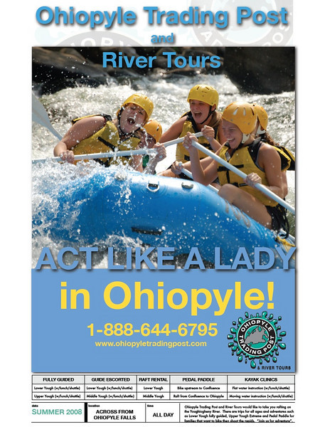 Ohiopyle Trading Post Print Artwork