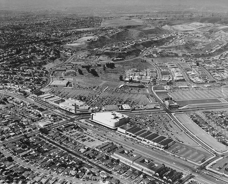 Crenshaw Mall Aerial