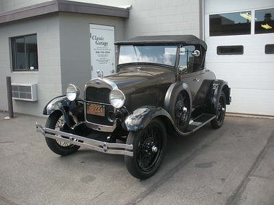 1929 Ford Model A - Same Owner Since 1965 - For Sale
