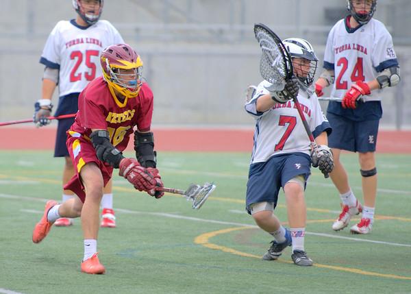 EHS JV lacrosse vs YLHS 4-25-14