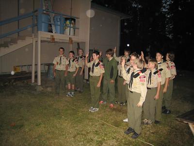 Troop Meeting - Sep 24