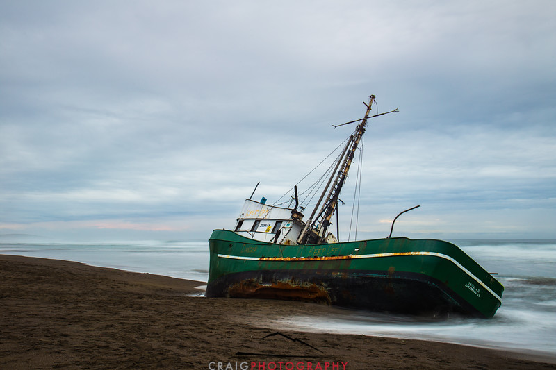 Salmon Creek Shipwreck  #5