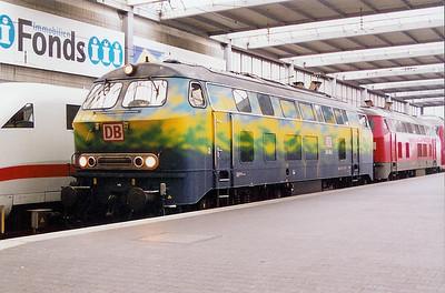 German DB stock Class order