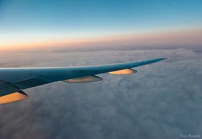 2011.03 flight to Cancun