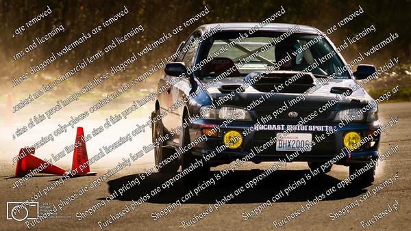 77 Caged Subaru Van Hee