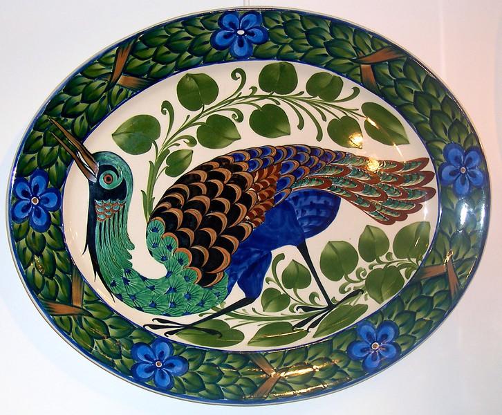 Antik i Forum - november 2002 Blå Fasan, Aluminia