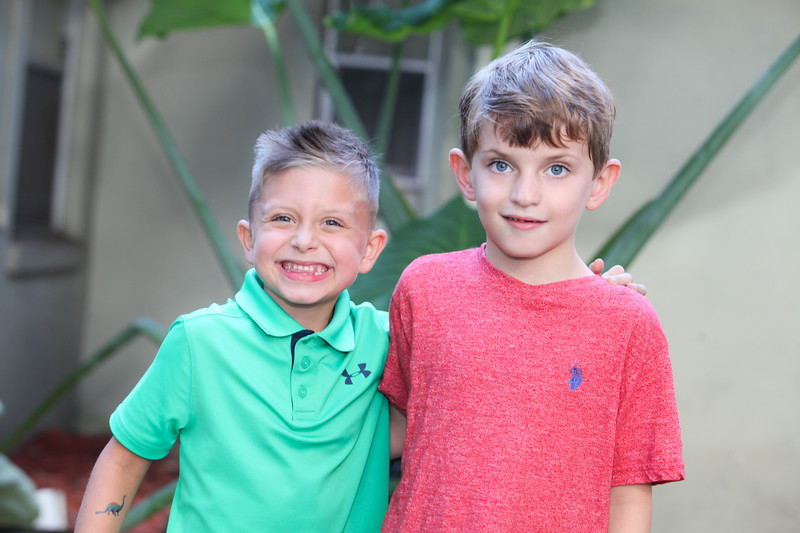 Thomas and Lucas' Birthday Party, 2018