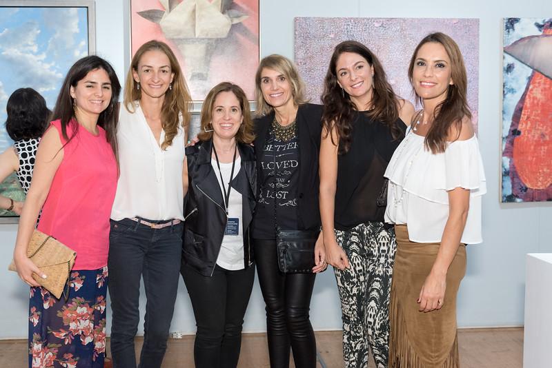 Schezira Milán, Gisela Iriarte, Laura Villareal, Jimena Hails, Silvina Zuain, Natalia Soria