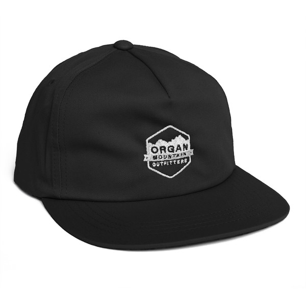 Outdoor Apparel - Organ Mountain Outfitters - Hat - Classic Snapback - Black.jpg