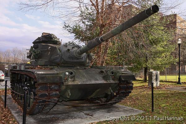 """Veterans Park - Waterlviet, NY - M60A3 & 3"""" Gun"""