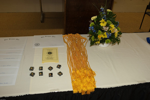 Phi Kappa Phi Induction 2010