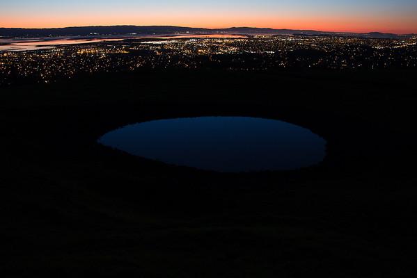 Mission Peak HDR Pond