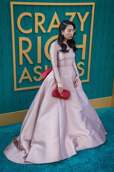 HOLLYWOOD, CA - AUGUST 07: Awkwafina arrives at Warner Bros. Pictures' 'Crazy Rich Asians' Premiere at TCL Chinese Theatre IMAX on Tuesday, August 7, 2018 in Hollywood, California. (Photo by Tom Sorensen/Moovieboy Pictures)