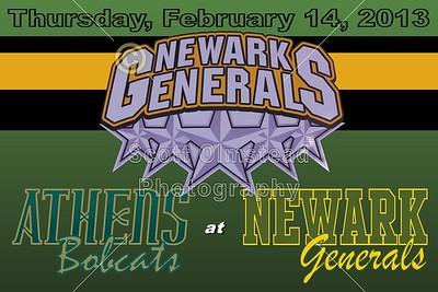 2013 Athens Bobcats at Newark Generals (02-14-13)
