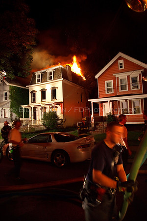 Structure Fire - City of Poughkeepsie Fire Department - 10 Harrison Street 8/19/09