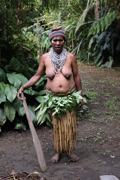 Pogla woman Kaulga tribe