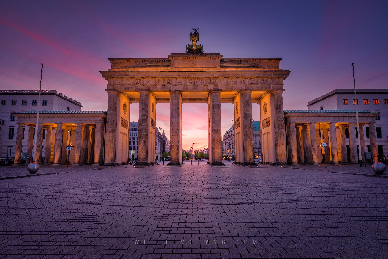到柏林攝影 布蘭登堡門 拍攝心得與建議 Brandenburg Tor by Wilhelm Chang 張威廉