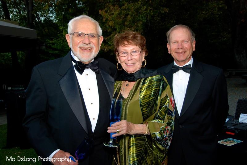 Allen and Joan Dekelboum and David Greenberg.jpg