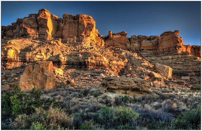 New Mexico, Chaco Canyon, Landscape,landscape, Fine Art.jpg