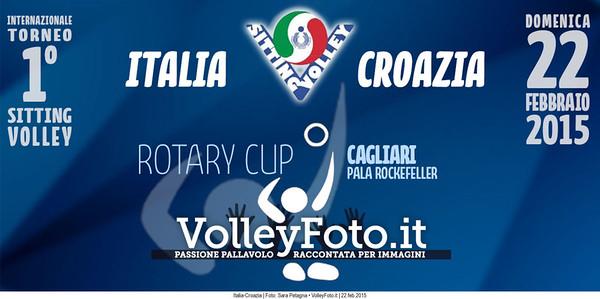 ITALIA-CROAZIA Torneo Int.le Sitting Volley CAGLIARI