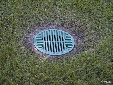 Round Grates - In Use