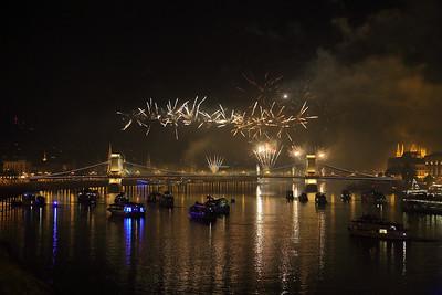 2018 Fireworks in Budapest — 2018-as budapesti tűzijáték