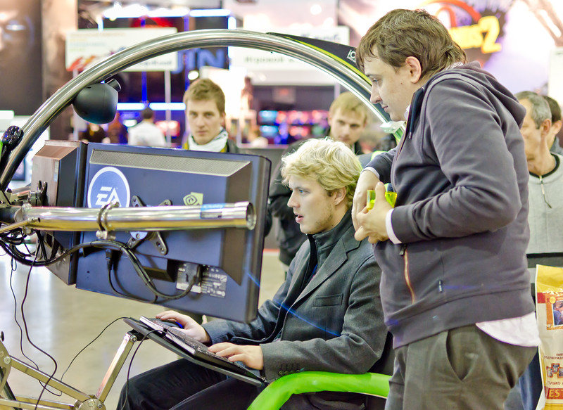 Gamer at Igromir 2011