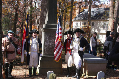 DAR Grave Marking Ceremony at White Plains Cemetery