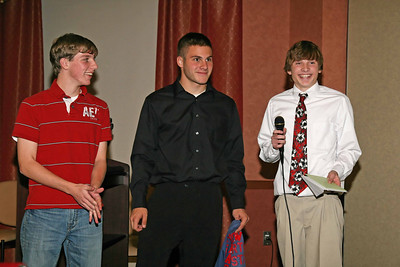 FHS Boys Soccer Awards Banquet - 11-13-08