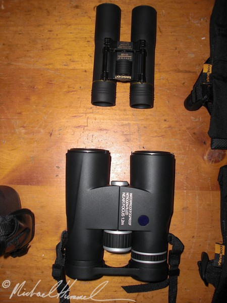Closeups Binoculars