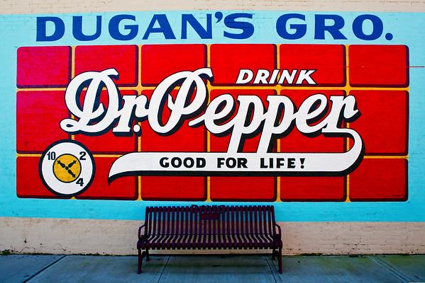 Dr Pepper Murals
