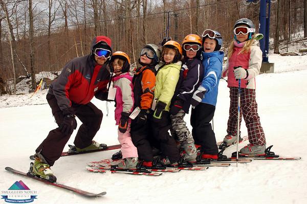 Wk. of Mar.29th-Ski School Group photos