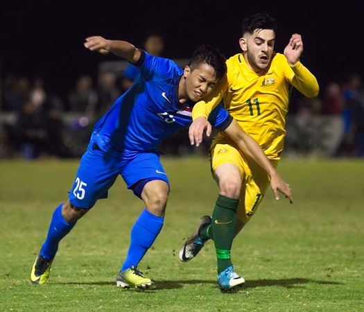 Young Socceroos v Singapore National Youth team