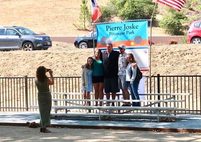 Pierre Joske Petanque Park Dedication  - Courtesy of Alain Efron