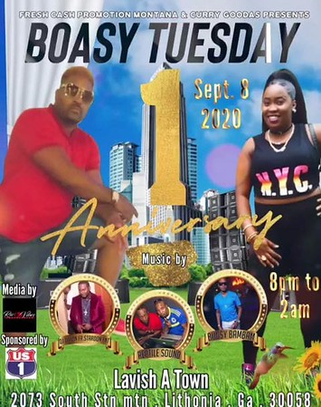 BOASY TUESDAYS 0NE YEAR ANNIVERSARY CELEBRATION