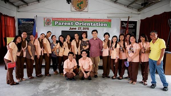 Parents' Orientation S.Y. 2015-2016