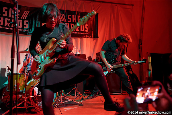 Screaming Females/Pujol/Newman/Schonenberg/Reyna Group, October 13, 2014