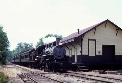 Connecticut: Valley Railroad, 1978