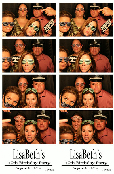Lisa Beths 40th Birthday Party August 16, 2014